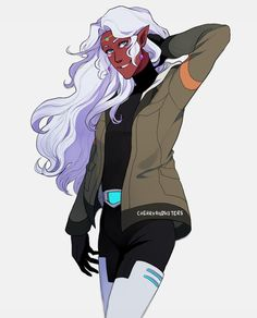Allura!!! What are you wearing??? Great art!!