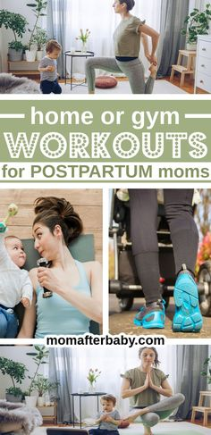 Looking for some fun postpartum workouts you can do at home or in the gym at least 6 weeks after you have your baby? These workouts are not only perfect for moms, they were MADE FOR MOMS! Postpartum Workout Plan, Postnatal Workout, Mutu System, Pumping Schedule, Prepare For Labor, After Birth, Diastasis Recti, Pelvic Floor, Fitness Nutrition