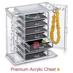 i think i'm in love... The Container Store - Premium Acrylic Chest