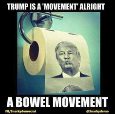 Kind-Hearted Donald Trump Humour Toilet Paper Roll Novelty Funny Gag Gift Dump With Trump Bathroom Hardware