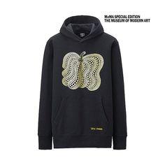MEN SPRZ NY Sweat Pullover Hoodie (Yayoi Kusama)-UNIQLOUKOnlinefashionstore £15