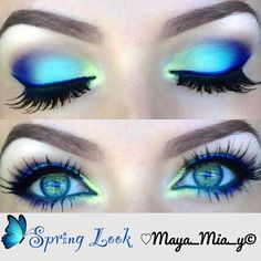 Eye Makeup Tips.Smokey Eye Makeup Tips - For a Catchy and Impressive Look Pretty Makeup, Love Makeup, Makeup Art, Makeup Tips, Beauty Makeup, Makeup Looks, Makeup Ideas, Awesome Makeup, Gorgeous Makeup