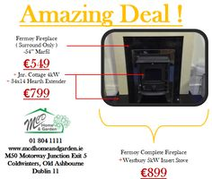 01 804 1111 sales@mcdhomeandgarden.ie Dublin, Insert Stove, Multi Fuel Stove, Fireplace Surrounds, Hearth, Gazebo, Shed, Home And Garden, Cottage