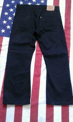 LEVIS 512 vintage Black Bootcut Denim  Jeans W 36 L 30  | eBay