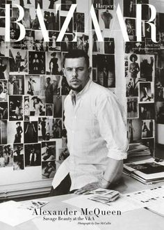 Remembering our friend, mentor and the founder of this house, Lee Alexander McQueen, who died ten years ago today. His brave and… Dna Cloning, Givenchy, Alexander Mcqueen Savage Beauty, V & A Museum, Friends Set, Alexander The Great, Harpers Bazaar, Girls Dream, British Style