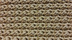 Tutorial punto a m. bassissima e mezza m. alta alternate | Crochet