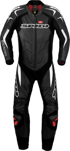 Spidi Supersport Wind Pro Leather Mens Street  Motorcycle Race Suits