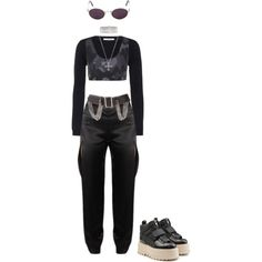 Untitled #971 by galaxyboms on Polyvore featuring moda, Valentino, Monreal, Puma, AMBUSH, Maria Canale, Burberry and Moschino