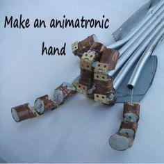 This Animatronic Hand is So Metal http://ift.tt/1PKS4yb