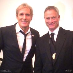Tweets with replies by Gary Sinise (@GarySinise)   TwitterGary Sinise @GarySinise   With Michael Bolton at National Association of Broadcasters Gala last night. TY 4 coming Michael & TY NAB 4 having me