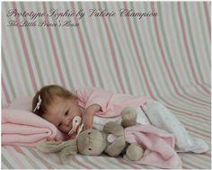 Sophie Reborn Doll Kit vereist vergadering door ValsLittleCherubs