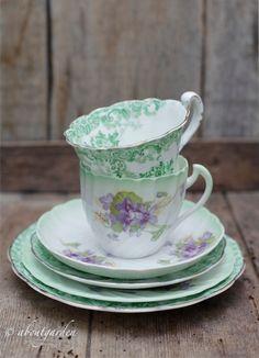 <3 aboutgarden <3 cup of tea