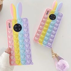 Toy Iphone, How To Pop Ears, Heart Bubbles, Unicorn Fashion, Girl Phone Cases, Baby Night Light, Airtight Food Storage Containers, Cute Pineapple, Silicone Iphone Cases