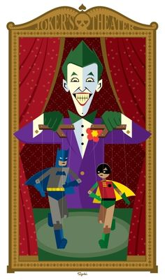 Joker's Theater /// by Szoki