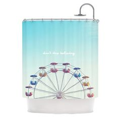 Dont Stop Believing Shower Curtain