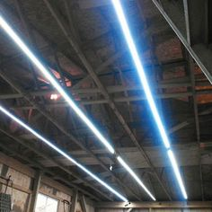 Inexpensive Garage Lights From LED Strips: 6 Steps (with Pictures) Led Garage Lights, Garage Lighting, Strip Lighting, Lighting Ideas, Garage Shop, Diy Garage, Garage Ideas, Small Garage, Modern Garage