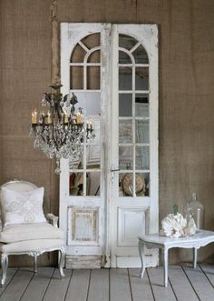 French mirror doors
