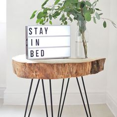 This easy tutorial shows you how to create this rustic coffee table using just two materials!