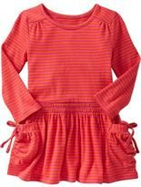Striped Jersey Pocket Dresses for Baby