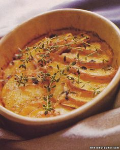 Gratin of Yukon Gold Potatoes