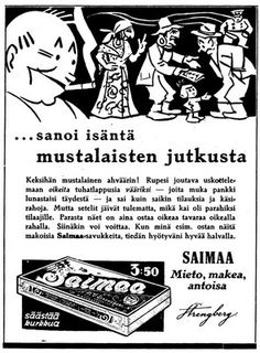 ... sanoi isäntä mustalaisten jutkusta Illustrations And Posters, Historian, Ancient History, Some Fun, Old Photos, Finland, Vintage Posters, Retro Vintage, Nostalgia