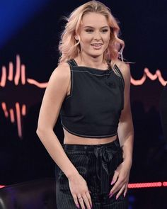 Zara Larsson ✾ on Skavlan TV show in Stockholm
