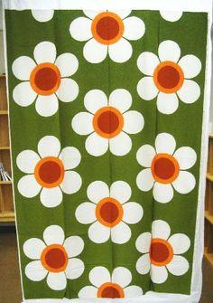 """Helenius, Fin-Helen """"Vappukukka"""" by Aini Vaari Textile Pattern Design, Surface Pattern Design, Textile Patterns, Print Patterns, Floral Patterns, Motif Vintage, Vintage Patterns, Retro Fabric, Vintage Fabrics"""