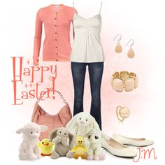 Have a Happy Easter Weekend!, created by jenniemitchell on Polyvore
