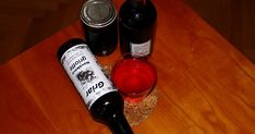 Red Wine, Alcoholic Drinks, Bottle, Glass, Drinkware, Flask, Corning Glass, Liquor Drinks, Alcoholic Beverages