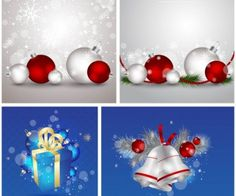 Christmas holiday backgrounds vector