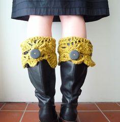 Pour habiller les bottes d'hiver :)