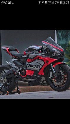 April 23 2019 at Moto Ducati, Concept Motorcycles, Ducati Motorcycles, Motorcycle Dirt Bike, Racing Bike, Custom Sport Bikes, Ducati Monster, Hot Bikes, Super Bikes