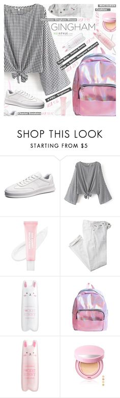 """YesStyle Polyvore Group "" Show us your YesStyle """" by pokadoll ❤ liked on Polyvore featuring Polo Ralph Lauren and Tony Moly"
