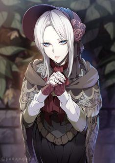 Sif Dark Souls, Arte Dark Souls, Cute Anime Character, Character Art, Fantasy Characters, Anime Characters, Persona Anime, Bloodborne Art, Fandom Games