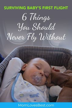 Need tips on how to travel with baby without losing your mind? Being prepared and having everything in your carry on is key to surviving a trip with your little one. Traveling with your baby can be a pleasant experience as long as you're prepared. Here are some of the most important things you shouldn't miss when traveling with baby on a plane. #travelingwithbaby #traveltipswithbaby #babytraveltips