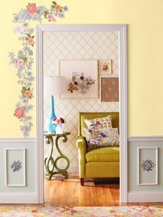 Decoupage Home Decor Projects  Decoupaged decor will inexpensively cheer up any space or accent. A collage of cutouts and a few coats of sealer are all you need.