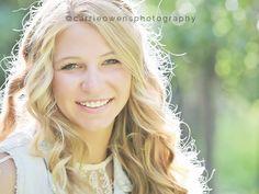 Utah high school senior photographer photographs beautiful blonde girl at the studio in Salt Lake City