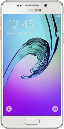 Samsung Galaxy A3 (2016) SM-A310FZWDSER White  — 18990 руб. —  Поддержка двух SIM-карт. Сенсорный экран. Операционная система: android 5.1 lollipop. Слот для карты памяти. Стереодинамики. FM-радио. Поддержка 3G (UMTS). Bluetooth. Поддержка Wi-Fi. Навигация GPS. Навигация ГЛОНАСС. Поддержка 4G. Аудиоплеер. Смартфон