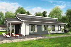 Olemisen riemua – Helmeri: 117 m², 3 makuuhuonetta, 1-kerroksinen omakotitalo