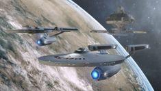 Star Trek's Federation Ships