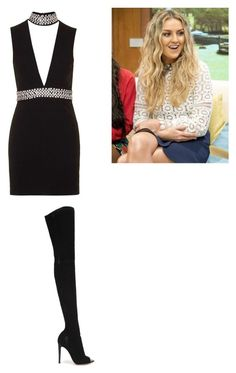 """""""Sans titre #217"""" by dancelovepassion ❤ liked on Polyvore featuring Topshop and Gianvito Rossi"""
