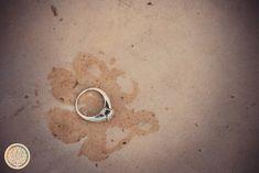 Life's Story Studios   Scottsdale Engagement Photographers   Scottsdale Civic Center Mall Wedding ring, dog paw print