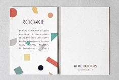 Identity design for Little Rookies, a new kids clothing label. || Design by Floor Winter