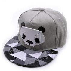 Women men Snapback Hip-Hop Hat Sport Baseball Panda Cap Golf ball Gorra planas snapback Casquette Cap with straight visor Toucas
