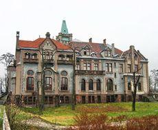 Sosnowiec Pałac Schöna w Sosnowcu