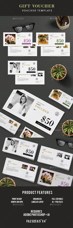 Gift Voucher Template PSD, AI Illustrator. Download here: https://graphicriver.net/item/gift-voucher/17446333?ref=ksioks