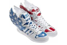 La nouvelle collection Jeremy Scott pour Adidas : http://www.madmoizelle.com/jeremy-scott-adidas-2012-84831