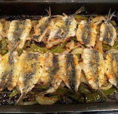 Sardinas Asadas receta casera Squid Recipes, Catfish Recipes, Tilapia Recipes, Seafood Menu, Seafood Recipes, Mexican Food Recipes, Kitchen Recipes, Cooking Recipes, Healthy Recipes