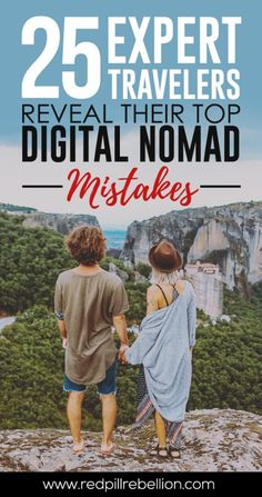Nomadic Lifestyle: 25 Digital Nomads Reveal Their Top Mistakes Travel Jobs, Digital Nomad, Online Work, Mistakes, Life Is Good, Dreaming Of You, Lifestyle, Psychology, Boss