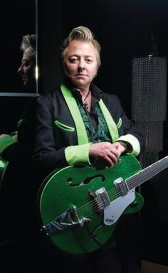 Dear Guitar Hero: Stray Cats' Brian Setzer Talks Gretsch Guitars, Joe Strummer, Vintage Cars, Jazz Lessons and Easy Guitar, Guitar Tips, Cool Guitar, Joe Strummer, Gretsch, Rockabilly, Stray Cats, Guitar Logo, Guitar Chords